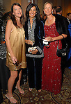 """Colleen Dippel, Sultana Mangalji and Sarah Foshee at the Children's Museum """"Road to Rio"""" Gala at The Corinthian Friday Oct. 19,2007.  (Dave Rossman/For the Chronicle)"""