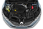 Car Stock 2021 Renault Talisman-Grandtour Initiale-Paris 5 Door Wagon Engine  high angle detail view