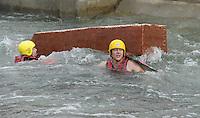 Best of Pappbootrennen 2013 im Kanupark Markkleeberg anlässlich des Wasserfest 2013 . Foto: Norman Rembarz