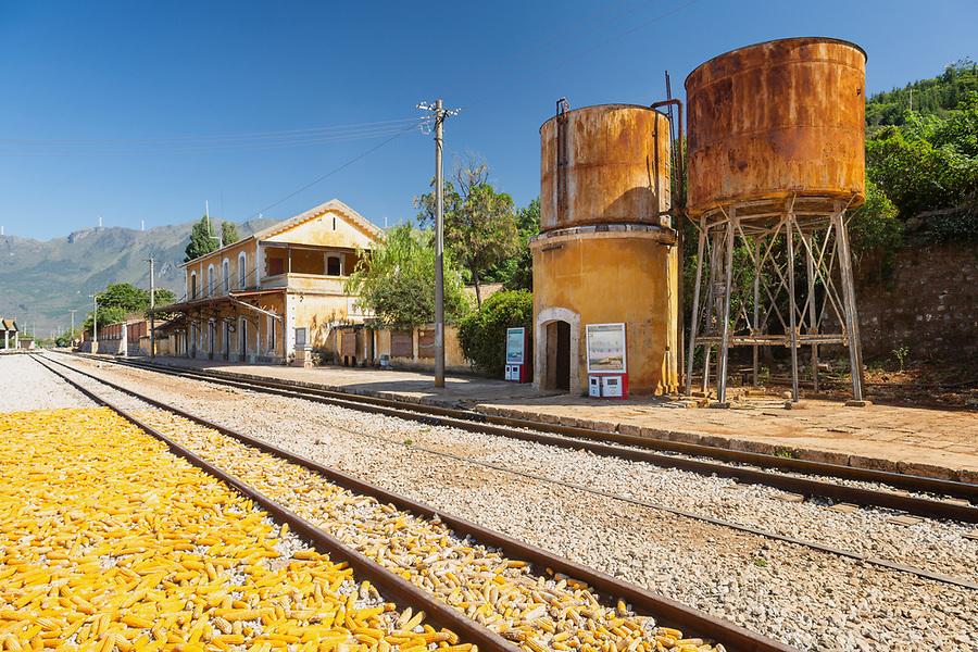 Bisezhai Station On The French-built Yunnan-Vietnam Railway (1909).