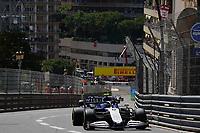 23rd May 2021; Principality of Monaco; F1 Grand Prix of Monaco,   Race Day;    Nicholas Latifi CAN 6 , Williams Racing