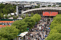 29-05-13, Tennis, France, Paris, Roland Garros, Perta Kvitova   Aravane Rezai   Victoria Azarenka   Elena Vesnina