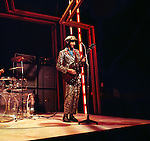 The Who 1970 Pete Townshend on BBC into 71 show<br /> © Chris Walter