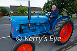 Attending the Ardfert Vintage Tractor run fundraiser for Kerry Cork Cancer Support Group in Ardfert on Sunday, l to r: Tom Connell form Kilflynn.