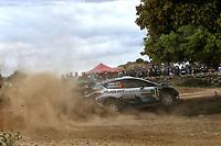 5th June 2021; Monte Acuto, Sardinia; WRC rally of Italia Sardinia; T Sunninen-Ford Fiesta WRC