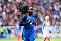Harrison, NJ - Sunday March 04, 2018: Griege Mbock Bathy during a 2018 SheBelieves Cup match match between the women's national teams of the United States (USA) and France (FRA) at Red Bull Arena.