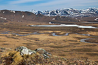 Nigu river, Brooks Range mountains, Gates of the Arctic National Park, Alaska.