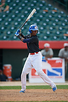 Junio Tilien (6) during the Dominican Prospect League Elite Underclass International Series, powered by Baseball Factory, on August 1, 2017 at Silver Cross Field in Joliet, Illinois.  (Mike Janes/Four Seam Images)