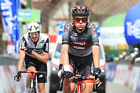 20th April 2021; Cycling Tour of the Alps Stage 2, Innsbruck, Feichten Im Kaunertal Austria;  Logan McLain Tirol Cycling Team