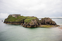 Tuesday  28 June 2016<br /> Pictured: View of the island<br /> Re: Sherlock filming on St.Catherines Island, Wales, UK