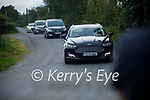 The bodies of Mossie O'Sullivan, his partner Eileen O'Sullivan and her son Jamie leave the scene of a suspected Murder suicide at Ballyreehan, Lixnaw on Wednesday.