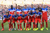 San Francisco, CA., - Tuesday, May 27, 2014: USMNT starting eleven vs Azerbaijan during an International friendly game at Candlestick Park.