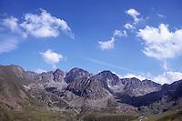 Montagna. Mountain. Pirenei, versante spagnolo. Pyrenees, the Spanish side.....