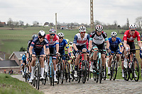 peloton up the Stationsberg<br /> <br /> 64th E3 Classic 2021 (1.UWT)<br /> 1 day race from Harelbeke to Harelbeke (BEL/204km)<br /> <br /> ©kramon