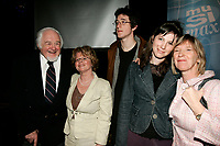 April 10 2006, Montreal (QC) CANADA<br /> <br /> Marie Marine , her mother (R) and her father <br />  Raymond Levesque at Musimax<br /> Photo : (c) 2006 Pierre Roussel