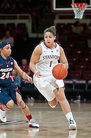 STANFORD, CA - JANUARY 6: Grace Mashore at Maples Pavilion, January 6, 2011 in Stanford, California.