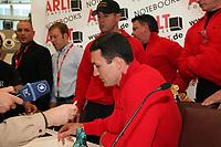 Weltmeister Wladimir Klitschko im Blickpunkt des Medieninteresses
