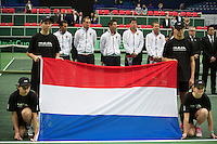 31-01-14,Czech Republic, Ostrava, Cez Arena, Daviscup Czech Republic vs Netherlands, , , Robin Haase (NED)<br /> Photo: Henk Koster