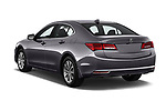 Car pictures of rear three quarter view of a 2020 Acura TLX AUTO 4 Door Sedan angular rear