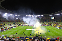26th May 2021; STADION GDANSK, GDANSK, POLAND; UEFA EUROPA LEAGUE FINAL, Villarreal CF versus Manchester United:  The celebrations start as Villarreal take centre field after their penalty shoot-out win