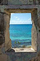 Looking out on Little Lameshur Bay<br /> from the ruins of the Lameshur Bay Estate House<br /> Virgin Islands National Park<br /> St. John<br /> U.S. Virgin Islands