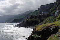 Küste bei Paul (Vila das Pombas), Santo Antao, Kapverden, Afrika