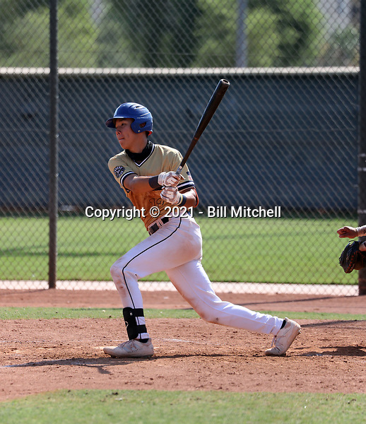 Cameron Kim of  CBA Marucci 2023 plays in the USA Baseball West Championships at Phoenix area baseball complexes from June 23-29, 2021 (Bill Mitchell)