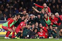 Italy celebrate at the end of the match<br /> Benevento 08-11-2019 Stadio Ciro Vigorito <br /> Football UEFA Women's EURO 2021 <br /> Qualifying round - Group B <br /> Italy - Georgia<br /> Photo Cesare Purini / Insidefoto