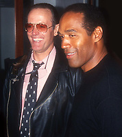 Peter Fonda OJ Simpson 1993 Photo By John Barrett/PHOTOlink