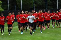 Training Eintracht Frankfurt - 23.07.2017: Eintracht Frankfurt Training, Commerzbank Arena