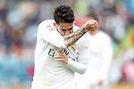Real Madrid's Isco Alarcon celebrates goal during La Liga match. April 16,2016. (ALTERPHOTOS/Acero)