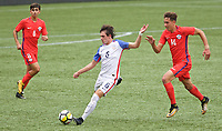Portland, OR - Saturday August 12, 2017: Taylor Booth during friendly match between the USMNT U17's and Chile u17's at Providence Park in Portland, OR.