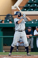 Jake Jefferies (8) of the Charlotte Stone Crabs during a game vs. the Lakeland Flying Tigers May 11 2010 at Joker Marchant Stadium in Lakeland, Florida. Charlotte won the game against Lakeland by the score of 3-0.  Photo By Scott Jontes/Four Seam Images