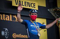 Mark Cavendish (GBR/Deceuninck-Quick Step) wins his 33rd Tdf stage<br /> <br /> Stage 10 from Albertville to Valence (190.7km)<br /> 108th Tour de France 2021 (2.UWT)<br /> <br /> ©kramon