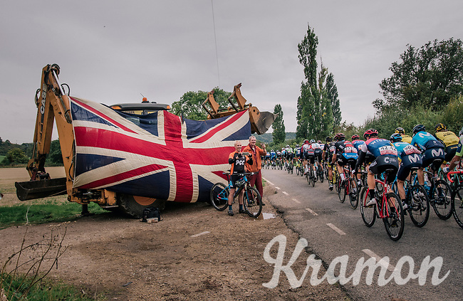 Union Jack<br /> <br /> Stage 7: West Bridgford to Mansfield (215km)<br /> 15th Ovo Energy Tour of Britain 2018