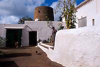 Spanien, Balearen, Ibiza, im Wehrdorf Balafia