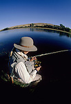 Fisheye view of Choosing the right fly