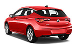 Car pictures of rear three quarter view of 2016 Opel Astra Dynamic 4 Door Hatchback Angular Rear