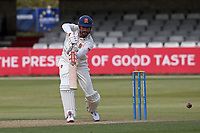 Sir Alastair Cook of Essex hits 4 runs during Essex CCC vs Durham CCC, LV Insurance County Championship Group 1 Cricket at The Cloudfm County Ground on 16th April 2021