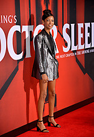 """LOS ANGELES, USA. October 30, 2019: Kyliegh Curran at the US premiere of """"Doctor Sleep"""" at the Regency Village Theatre.<br /> Picture: Paul Smith/Featureflash"""