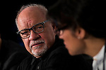 """American screenwriter and director Paul Schrader during press conference of the film """"Dog Eat Dog"""" at Festival de Cine Fantastico de Sitges in Barcelona. October 11, Spain. 2016. (ALTERPHOTOS/BorjaB.Hojas)"""