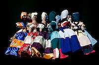 Cuba, Trinidad.  Souvenir Dolls for Sale in Tourist Market.