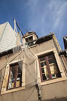 France, Pas-de-Calais (62), Côte d'Opale,Boulogne-sur-Mer, <br /> Maison de la Beutière, maison de pêcheur, Cet écomusée occupe l'une des dernières demeures d'époque (1870) de l'ancien quartier des marins, autrefois appelé la Beurière    //  France, Pas de Calais, Cote d'Opale (Opal Coast), Boulogne sur Mer, The Beuriere House, fisherman house, ecomuseum