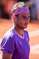 23rd April 2021; Real Club de Tennis, Barcelona, Catalonia, Spain; ATP Tour, Mens Singles, Barcelona Open Tennis;  Banc Sabadell Trofeo Conde de Godó; Rafa Nadal during his 6-1 and 6-4 win over Cameron Norrie (Gbr)