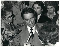 Le nouveau chef du PLQ, Claude Ryan en 1978, date exacte inconnue<br /> <br /> PHOTO :  Agence Quebec Presse