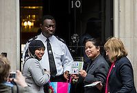 01.04.2014 - Domestic Workers Hand Petition to 10 Downing Street
