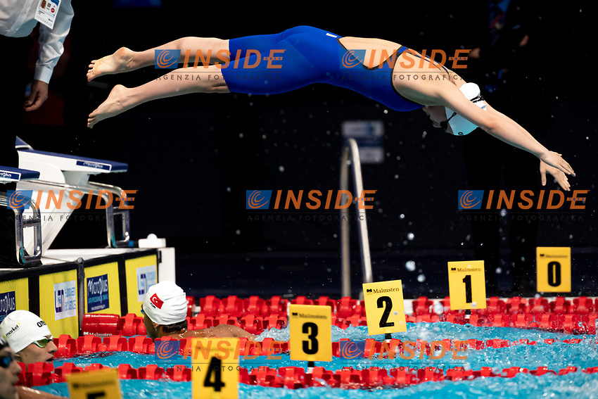 Team HUNGARY HUN <br /> Swimming - Mixed 4x200m freestyle relay final<br /> XXXV LEN European Aquatic Championships<br /> Duna Arena<br /> Budapest  - Hungary  18/5/2021<br /> Photo Giorgio Perottino / Deepbluemedia / Insidefoto