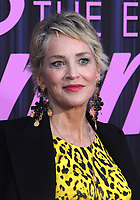 NEW YORK, NY - SEPTEMBER 14: Sharon Stone at the New York Premiere of The Eyes Of Tammy Faye at the SVA Theatre in New York City on September 14, 2021. Credit: Erik Nielsen/MediaPunch