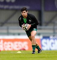 4th June 2021; Galway Sportsgrounds, Galway, Connacht, Ireland; Rainbow Cup Rugby, Connacht versus Ospreys; Alex Wootton (Connacht) in action during the warm up