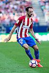 Atletico de Madrid's player Juanfran Torres during a match of La Liga Santander at Vicente Calderon Stadium in Madrid. September 25, Spain. 2016. (ALTERPHOTOS/BorjaB.Hojas)